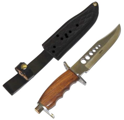 Handcrafted Bowie Knives - 12 in handmade bowie knife ra1044 knives