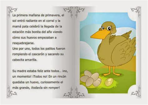 leer libro de texto cuentos clasicos para sonar gratis para descargar cuentos infantiles el patito feo ilustraciones a color y texto del cuento