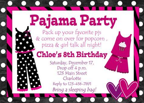 birthday party invitations  girls  invitation templates drevio