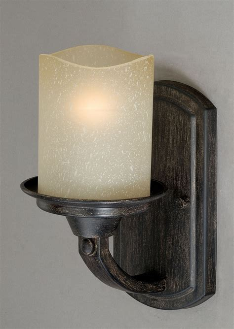 rustic bathroom light fixtures vaxcel lighting w0146 halifax rustic lodge log cabin