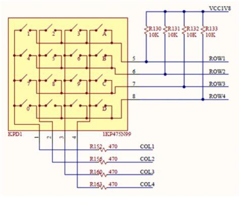 pull up resistor for keypad anvyl refmanual reference digilentinc