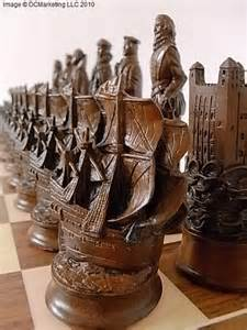 Unique Chess Sets For Sale elizabethan themed chess set live the good life all