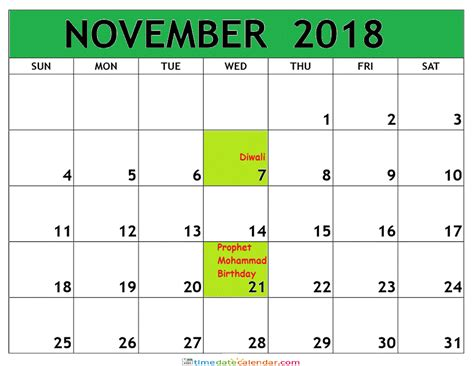 printable planner malaysia november calendar 2018 malaysia printable template download