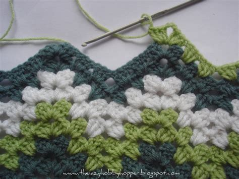 free pattern ripple afghan the lazy hobbyhopper how to crochet granny ripple