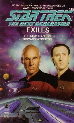 exiles books exiles trek the next generation 14 by howard