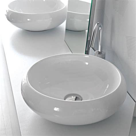 lavabi bagno appoggio lavabi appoggio lavabo tondo appoggio 43 serie tao