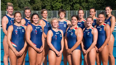 hot female water polo players water polo hungary s female team to fight for ninth place