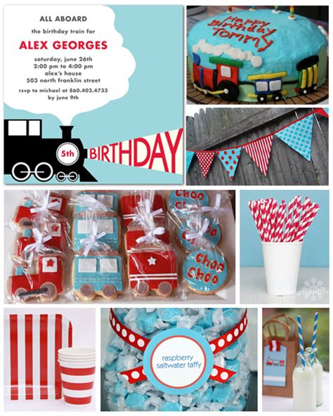 train themed birthday party ideas southern blue celebrations thomas the train train party