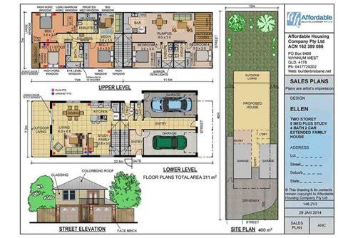 extended family house plans 181 best floor plans duplex images on pinterest floor plans brisbane and melbourne
