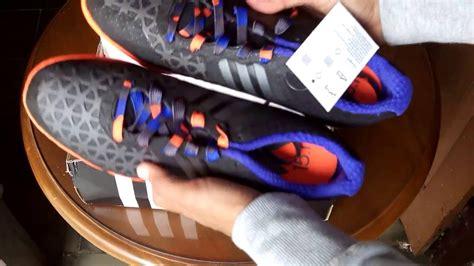 Sepatu Adidas Biasa sepatu futsal adidas ace 15 1 ct black met orange b32883 unboxing