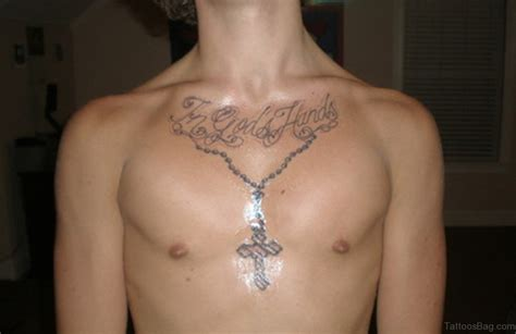 cross tattoos on the chest 50 best rosary tattoos on chest