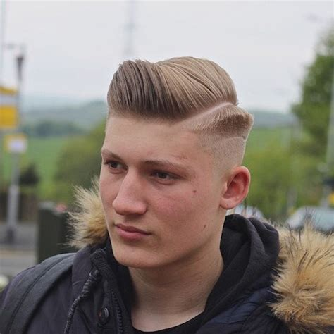 Hard Part Haircut Popular For Men | 2016 sleek hard part haircuts for men men s hairstyles
