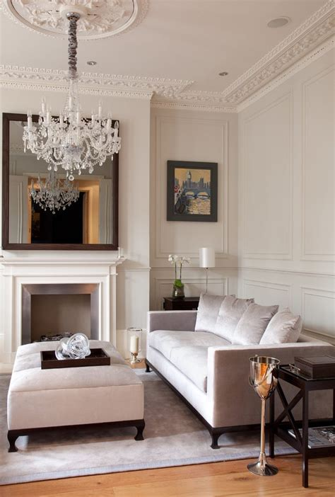 mirrored accent chests for living room ideas home victorian reupholstered couch living room transitional