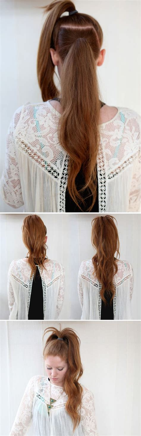 super easy hairstyles    hair tutorials