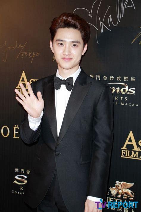 film d o exo 2015 event d o attends the 9th asian film awards celebrity