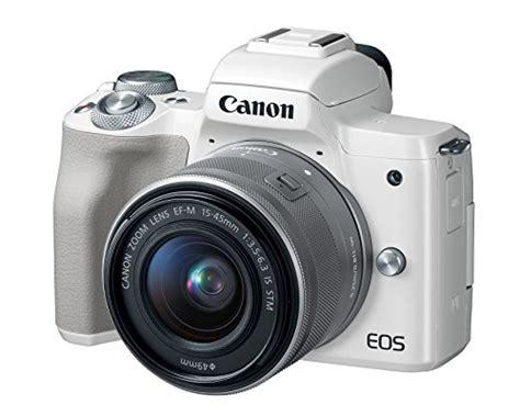 canon eos m50 mirrorless kit w ef m15 45mm lens