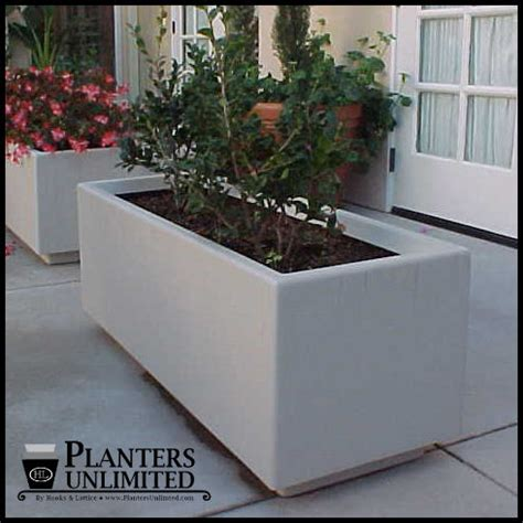 large commercial planters large commercial fiberglass planters stock or custom