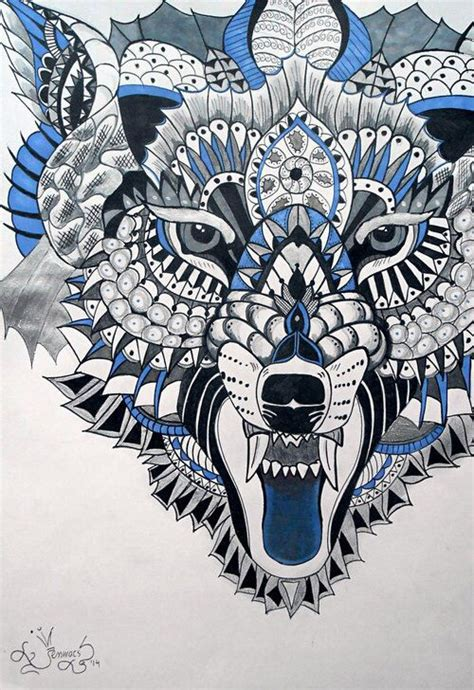 lion zendoodle drawn by justine galindo signed prints 253 best images about zentangle animals on pinterest