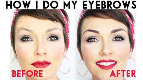 how do i my how i do my eyebrows