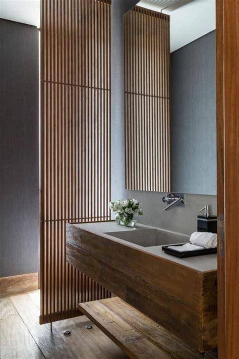 Kleines Badezimmer Holz by Kleines Modernes Badezimmer Badm 246 Bel Aus Holz