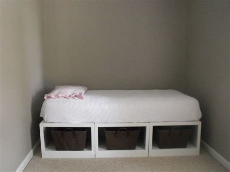 diy storage beds susie harris diy storage daybed