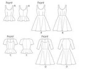 free pattern skater dress skater dress pattern m6754 sew crafty