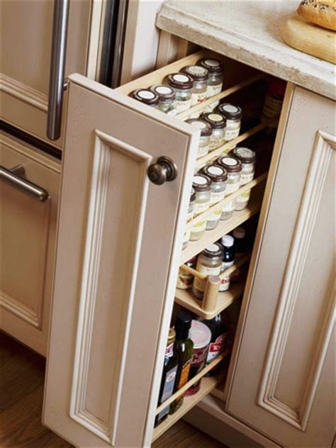 Narrow Spice Rack Pull Out Spice Rack Butler S Pantry
