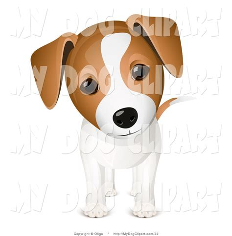 puppy clipart clip of a curious adorable puppy with his cocked to the side
