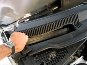 cabin air filter replacement dodge charger