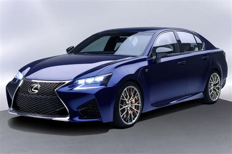 All New 2016 Lexus Gs F Has A 467hp 5 0 Liter V8 Carscoops