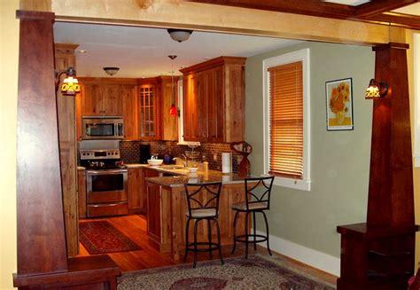 arts  crafts style kitchen