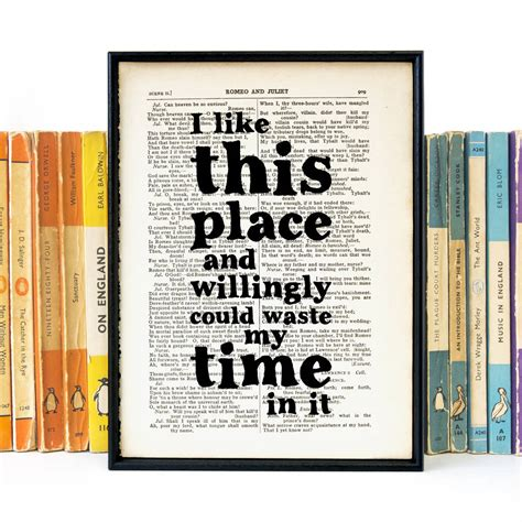 gifts from time and place books i like this place shakespeare book page quote by