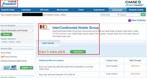 Does Holiday Inn Have Gift Cards - 6 cash back on hotels com holiday inn ihg marriott with your chase freedom