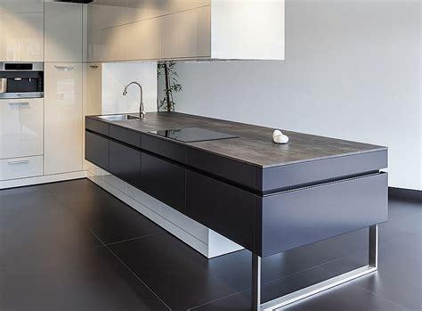 Kitchen Island Granite Top ceramic worktops neolith iron grey kitchenfindr
