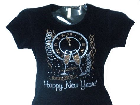 new year apparel new year s swarovski bling t shirt still