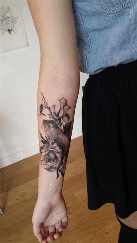front arm tattoo designs best 25 black and gray tattoos ideas on black