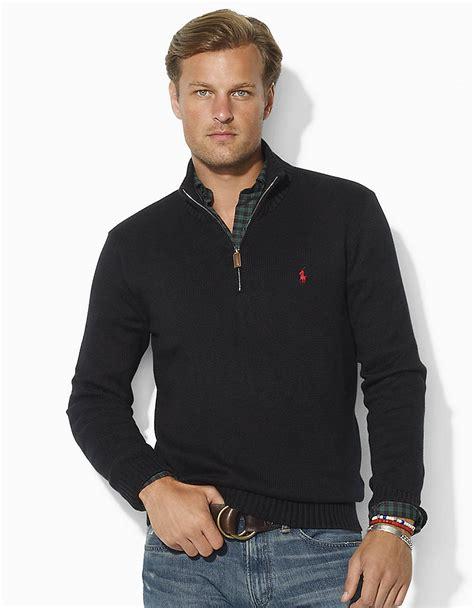 Rompi Vest Zipper Polos 12 polo ralph s sleeve half zip knit sweater sweater jacket