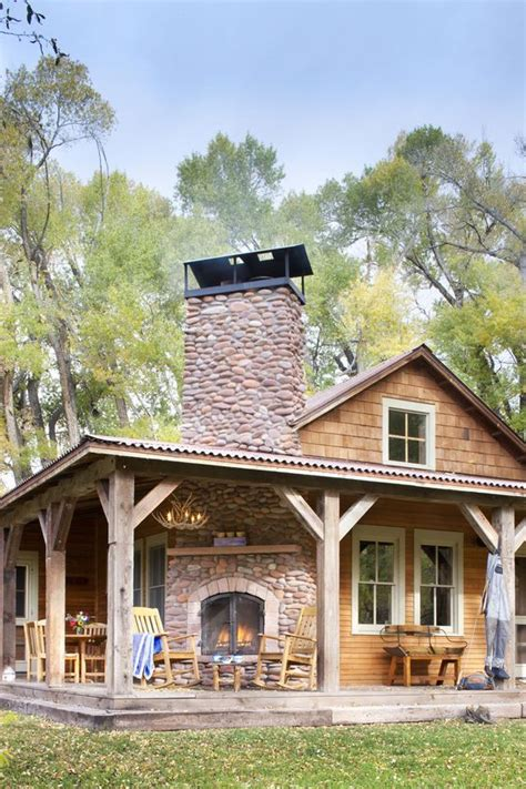 Small Rustic Home Plans by The Roof Fireplaces And Cabin On