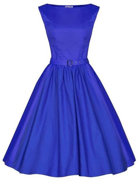 formal swing dress vintage rockabilly 50s audrey hepburn dress sleeveless