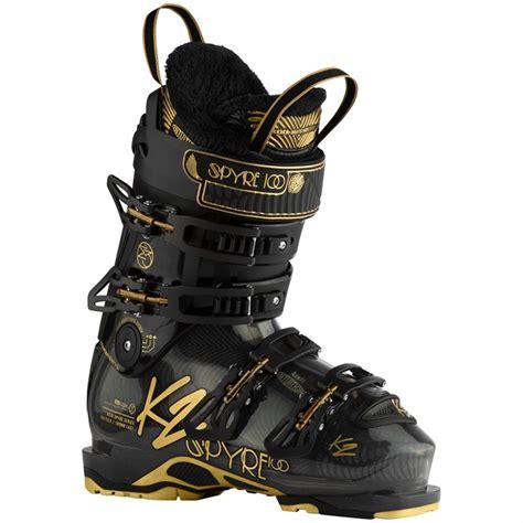 k2 ski boots k2 spyre 100 ski boots s 2017 evo