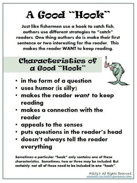 Hook Essay by 17 Best Images About Lesson Hook On Teaching Writing Hooks And Activities