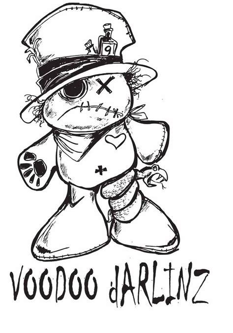 voodoo darlinz doll by sketchoo on deviantart