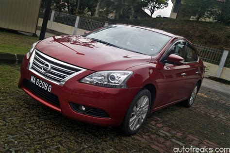 nissan sylphy 2014 test drive review nissan sylphy 1 8 vl autofreaks com