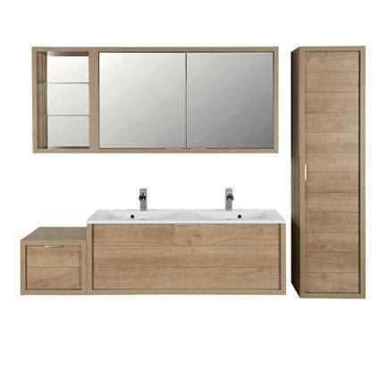 armoire de toilette 120 cm armoire de toilette allibert trentino 2 portes 120 cm