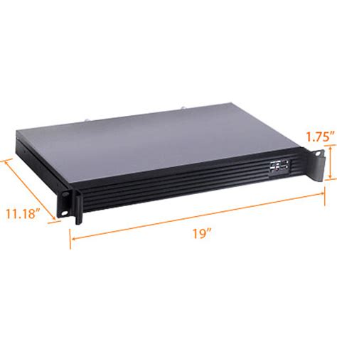 Rack 1u by Rms106 11 Quot Depth 1u Rack Mount Pc Bsicomputer