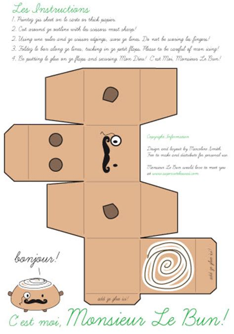 kawaii box template printable diy and crafts pinterest kawaii box papercraft templates pictures to pin on