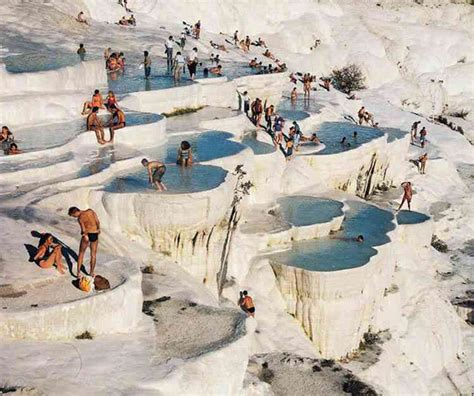 pamukkale turkey spectacular pamukkale thermal pools in turkey the