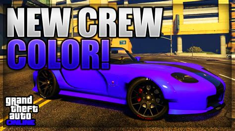 gta 5 crew colors gta 5 new modded crew color 47 quot intoxicated