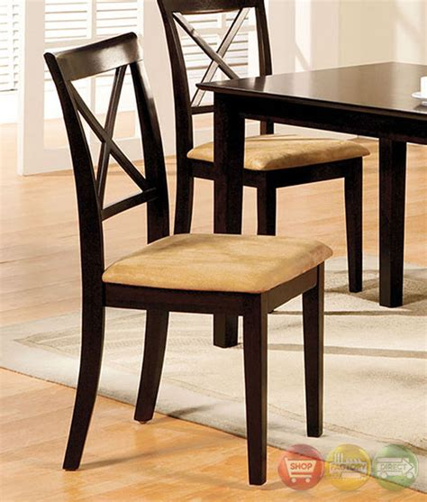 casual dining chairs melbourne melbourne i contemporary espresso casual dining set with
