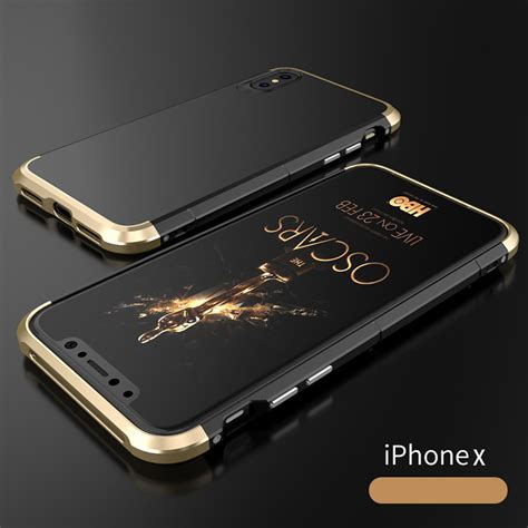 Iphone Metal metal ultra thin luxury shockproof armor aluminum